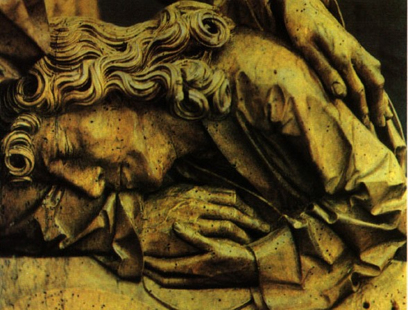 Tilman Riemenschneider, Last Supper - Detail