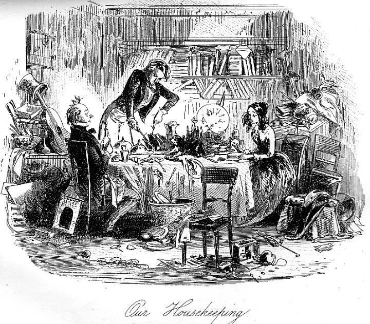 david copperfield housekeeping